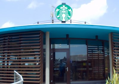 Starbucks building